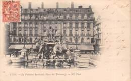 69 - LYON - La Fontaine Bartholdi (Place Des Terreaux) - Lyon