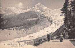 74 - CHAMONIX - Glacier Des Bossons Et Aiguille Du Midi - Chamonix-Mont-Blanc