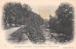 89 - Environs D'AVALLON - Route De Pontaubert, La Vallée Du Cousin - Avallon