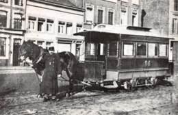 Première Tramway Liégois Vers 1890 - Liege