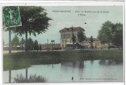 94 PETIT-BICETRE . Hôtel Du Rendez-vous De Chasse , L'étang , En Couleur , édit : Sabrié , écrite En 1913 , état Extra - France