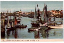 2809 - Les Sables D'Olonne ( 85 ) - Le Port Vu De La Chaume - L.L. - N°38 - - Sables D'Olonne