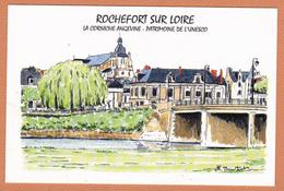 ROCHEFORT SUR LOIRE 49 ( RARE ILLUSTRATION ) - France