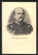 AK Fürst Bismarck, Portrait Von 1870 /71 - Personajes Históricos