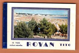 ROYAN 17 ( CARNET DE CARTES POSTALES DES EDITIONS TITO ) COMPLET ET EN EXCELLENT ETAT ! ! ! - Royan