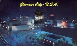 Glamour City U.s.a. - Hollywood California At Night - Formato Piccolo Viaggiata – E 8 - Postcards