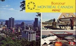 Bonjour - Montreal Canada Expo 67 - Formato Piccolo Viaggiata – E 8 - Postcards
