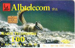 ALBANIA - Squirrel, Wolf, 01/02, Used - Albania