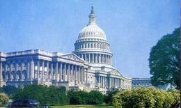 United States Capital Washington - Formato Piccolo Viaggiata – E 8 - Postcards