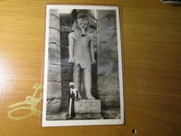 CARTOLINA EGYPT LUXOR TEMPLE     1936   ARRIVO ZURIGO POSTA AEREA AFFRANCATURA MISTA    - D - 2869 - Egitto