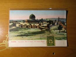CARTOLINA JERUSALEM TEMPELPLATZ    D - 2910 - Palestine