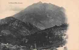 CPA Le Monte D' Oro ( Corse ) - Francia