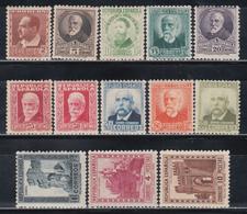 1932   EDIFIL Nº 662 / 675  /*/, Personajes, - 1931-Hoy: 2ª República - ... Juan Carlos I