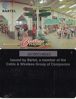 BARBADOS ISL.(GPT) -  Bridge Cruise Terminal, CN : 92CBDC(VLtl, Normal 0), Tirage %16500, Used - Barbados