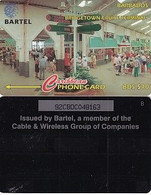 BARBADOS ISL.(GPT) -  Bridge Cruise Terminal, CN : 92CBDC(VLtl, Normal 0), Tirage %16500, Used - Barbades