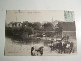F2 PORT BRILLET L Etang Les Laveuses 1903 - Autres Communes