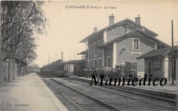 30CP(SNCF CAUSSADE+JUVIGNY/O+MANTES+Train Blindé)Très Rare HOUBLON+Usine Pernod+Milit+Folkl+Frontière+Fant.+Hôtel.. N°41 - Postcards