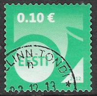 Estonia 2012 Definitive 10c Good/fine Used [38/31500/ND] - Estonia