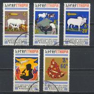 °°° LOT ETIOPIA ETHIOPIA - Y&T N°700/4 - 1974 °°° - Ethiopia