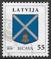 Latvia 2010 Arms 55s Iecava Good/fine Used [38/31504/ND] - Latvia