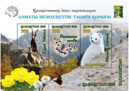 Kazakhstan 2018. Almaty State Natural Reserve.  MNH - Kazakhstan