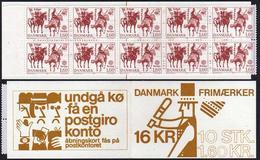 Denmark 680 Booklet,MNH.Michel 730 MH. EUROPE CEPT-1981,Folklore. - Denmark