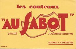 """Buvard - Les Couteaux """" AU SABOT """" Coutellerie ( Imp Ramboz - Années 1950/1970 - - Shoes"""