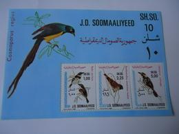 SOMALIA  SOMALI  MINT**  STAMPS BIRD BIRDS SHEET - Oiseaux