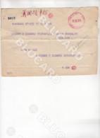 29966 CHINA 1940 ? TELEGRAM FROM SHANGHAI TO TIENTSIN - Documenti Storici