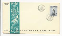Cover * Índia * 1956 * Dia Do Selo - Inde Portugaise
