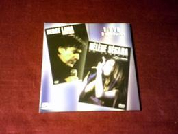 HELENE SEGARA  EN CONCERT A L'OLYMPIA  + SERGE LAMA  BERCY 2003   1 DVD 2 SPECTACLES - Concert & Music