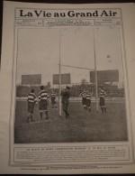 1908 RUGBY CARDIFF STADE FRANCAIS - COURSE AUTO COUPE VANDERBILD - SEMAINE DES AVIATEURS - CHAMPIONS BOXE POIDS LOURDS - Journaux - Quotidiens