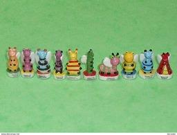 Série De Fèves Complète : Insecto - Animals