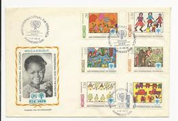 Cover FDC * Moçambique * 1979 * Beira * Ano Internacional Da Criança - Mozambique