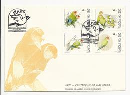 Cover FDC * Angola * 1992 * Luanda * Aves - Protecção Da Natureza - Angola