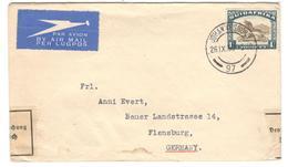 8750 - Pour L'ALLEMAGNE Avec Contrôle - Poste Aérienne