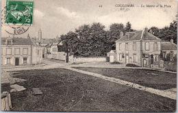 28 COULOMBS - La Mairie Et La Place - Altri Comuni