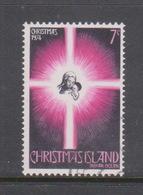Christmas Island ASC 61 1974 Christmas  7c Star,Family Used - Christmas Island
