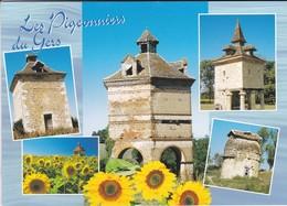 32---LES PIGEONNIERS DU GERS---multi-vues--voir 2 Scans - Frankreich
