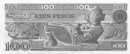 BILLET  MEXICO 100  PESOS - Mexique