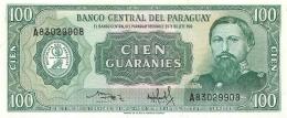 BILLET  PARAGUAY 100 GUARANIES - Paraguay