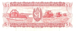 BILLET   GUYANA 1 DOLLAR - Guyana