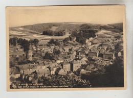CPSM LA ROCHE EN ARDENNE (Belgique-Luxembourg) - Sud De La Ville Et Faubourg Saint Antoine - La-Roche-en-Ardenne