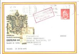 SEP CIRCULADO  MARCA TARIFA ESPECIAL - Enteros Postales