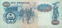 BILLET   ANGOLA 1000  KWANZAS - Angola