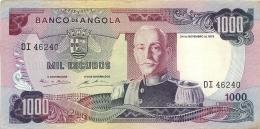 BILLET   ANGOLA 1000 ESCUDOS - Angola