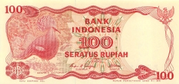 BILLET   INDONESIE 100 SERATUS RUPIAH - Indonésie
