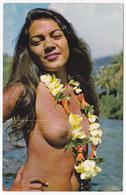 Polynésie Française - Tahiti - Tahitienne à La Rivière / Nue - 11 - French Polynesia