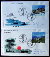 Greenland 1993 NORDEN   MiNr.234-35  FDC( Lot Ks )FOGHS COVER - FDC
