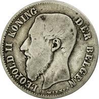 Monnaie, Belgique, Leopold II, 50 Centimes, 1898, TB+, Argent, KM:27 - 06. 50 Centimes